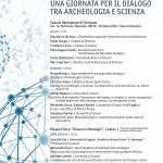 Dialogo tra archeologia e scienza!