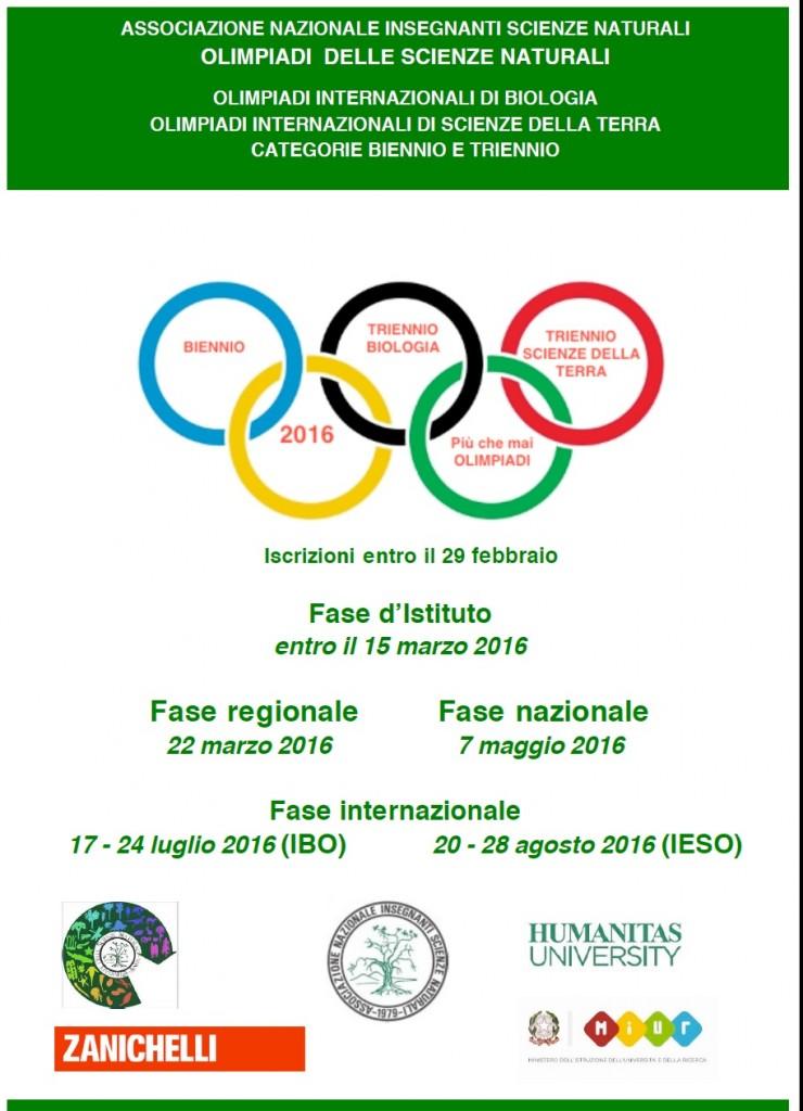 Locandina OLI 2016