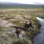 Scongelamento della tundra e variazioni climatiche