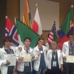 L'Italia alle IESO 2017: ottimo medagliere!