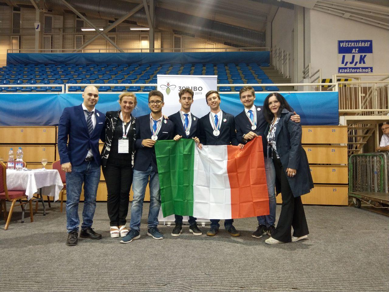 Oro, argento e bronzo alle IBO 2019!!