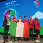 L'Italia alle IESO 2019: tre medaglie d'argento e una di bronzo!