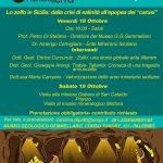 """La Settimana del pianeta Terra """"Lo zolfo in Sicilia: dalla crisi di salinità all'epopea dei carusi"""""""