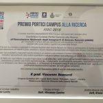 Premio Portici Campus alla ricerca 2019 a ANISN e Olimpiadi