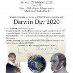 """Darwin Day 2020 e """"La Storia Naturale dell'Uomo"""" di Pietro Omodeo"""